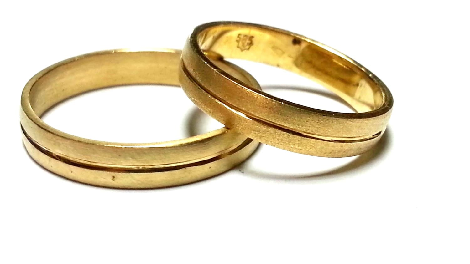 For Her For Him His and Hers Wedding Bands Promise by JKASHI1889
