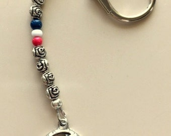 Grateful Dead Keychains-Skulls, Steal Your Face and Dancing Bears Made to Order