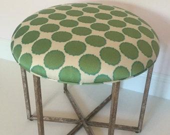 Fabric Upholstered Ottoman