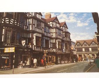 Vintage Postcard, Shrewsbury Postcard, Ireland Postcard, Ireland's Mansions, Collectible Postcard, Ireland 1950's