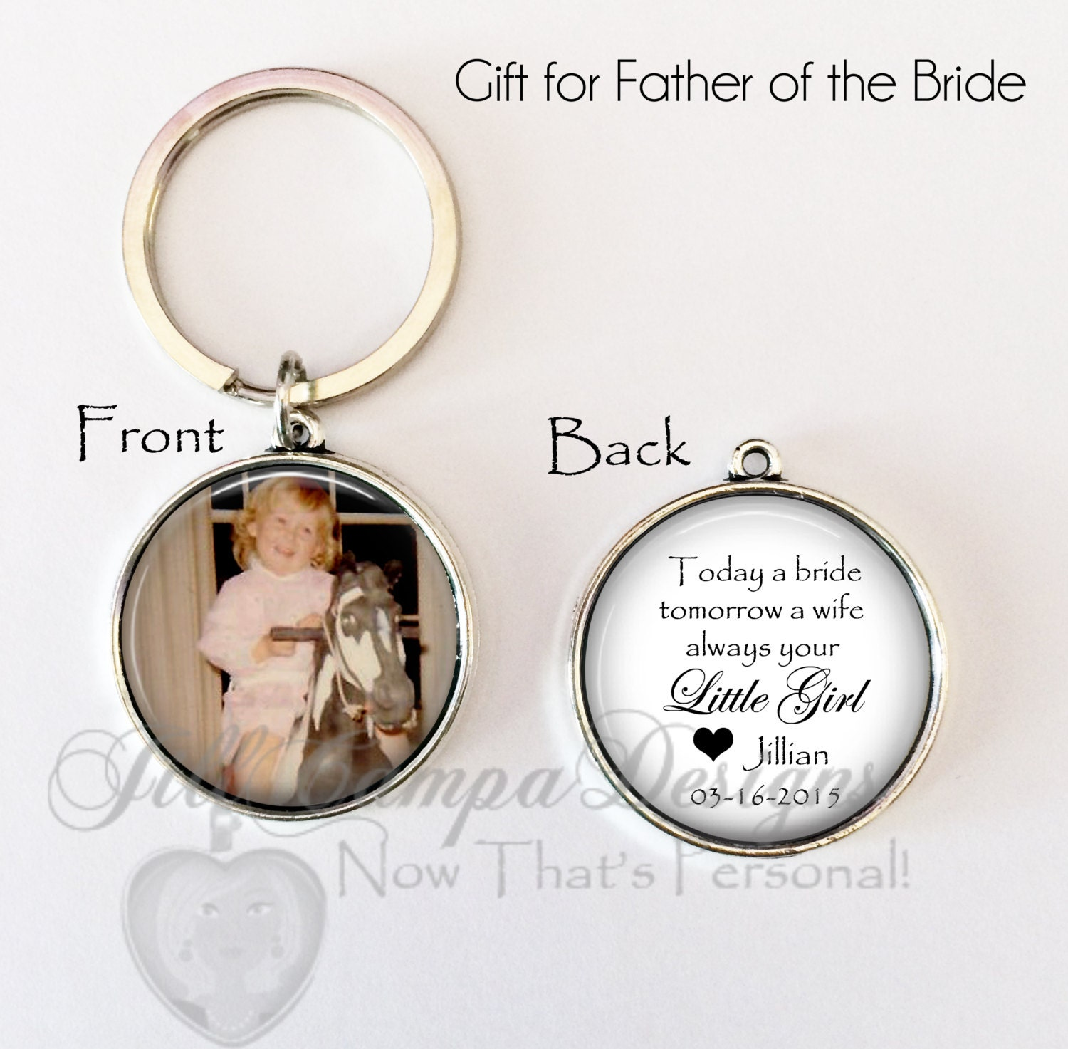 Wedding Gift Ideas For Brides Father : FATHER of the BRIDE GIFT Brides gift to Dad on wedding