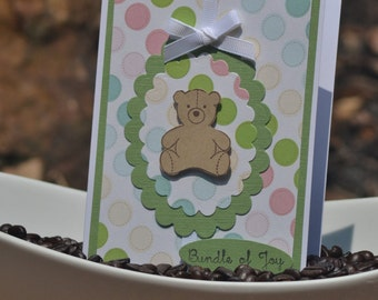 Handmade Card for Baby