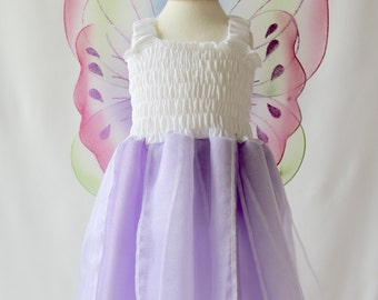 Lilac baby dress