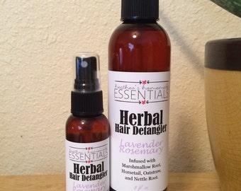 Herbal Hair Detangler infused with Marshmallow Root - Lavender Rosemary
