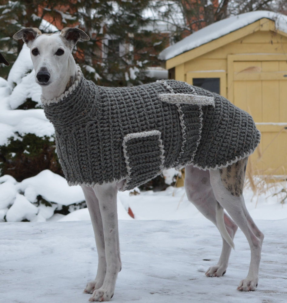 Knitting Patterns For Greyhound Sweaters : Greyhound Sweater Greyhound Coat Greyhound Jumper Sighthound