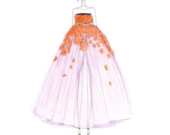 Giambattista Valli Inspired (Print)