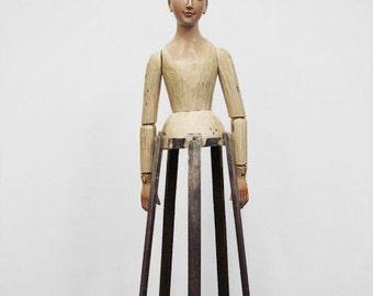 "27"" Painted Lady Santos Cage Doll - Form - Mannequin - Saint"
