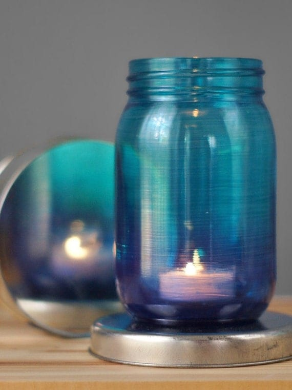Mason Jar Candle Holder