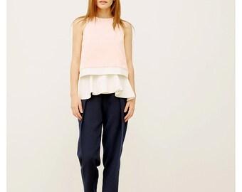 Belt Skirt / White Peplum Belt / Ruffle Belt / Extravagant Skirt / All Season Accessory / Elegant Skirt / Easy to Wear