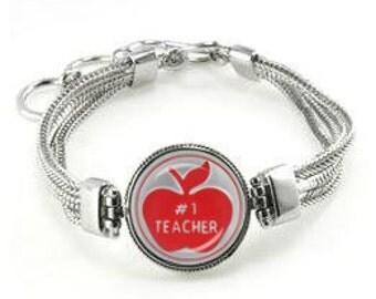Teacher Bracelet - Gift For Teacher - Teacher - Jewelry For Teacher - Teacher Gift - Christmas Gift For Teacher