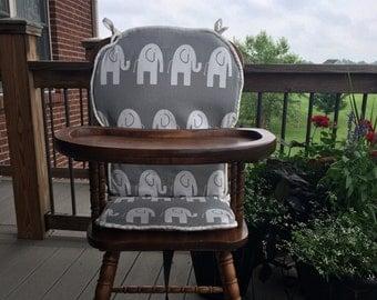 High Chair Cover. High chair pad. highchair cover. high chair cushion. wooden high chair pad. highchair cushion. highchair pad. vintage