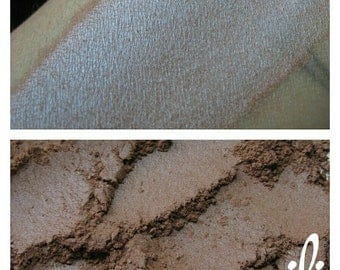 Dirty Smurf - Light Brown and Blue Duochrome Mineral Eyeshadow - ili