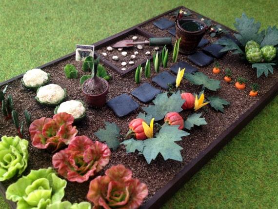 Jardin Potager L Gumes Miniature Maison De Poup Es Par