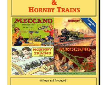 DVD Memories of Meccano & Hornby Trains Dinky Cars Toys film video