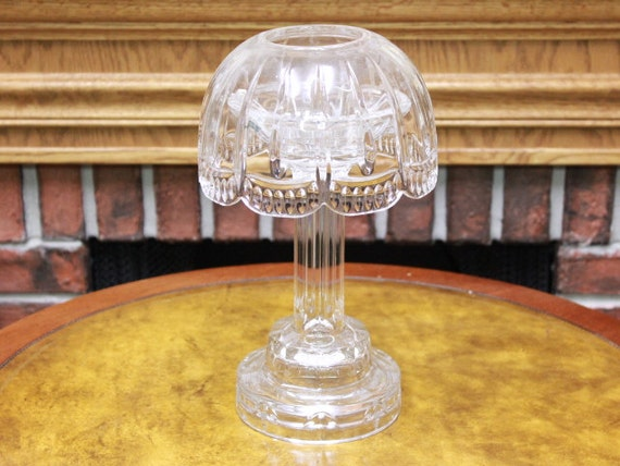 Shannon 24 Lead Crystal Candle Lamp