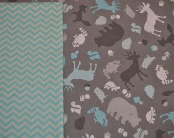 Forest Friends Baby Blanket - cotton
