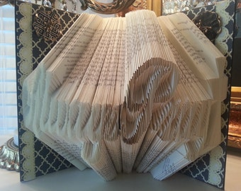 Always Pray Folded Book Art Home Decor Religious Gift Ideas Friends