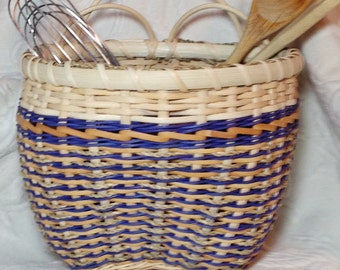 Beautiful handwoven catchall basket