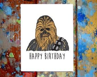 R2d2 carte joyeux anniversaire star wars par - Bon anniversaire star wars ...