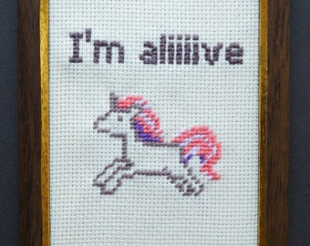 "Embroidery image Unicorn ""the last Unicorn"""