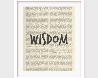 Quote Printable, Wisdom Art, Decor Print, Instant Download