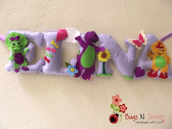 Barney And Friends Room Decor