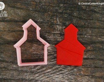 Church Cookie Cutter, Mini and Standard Sizes, 3D Printed