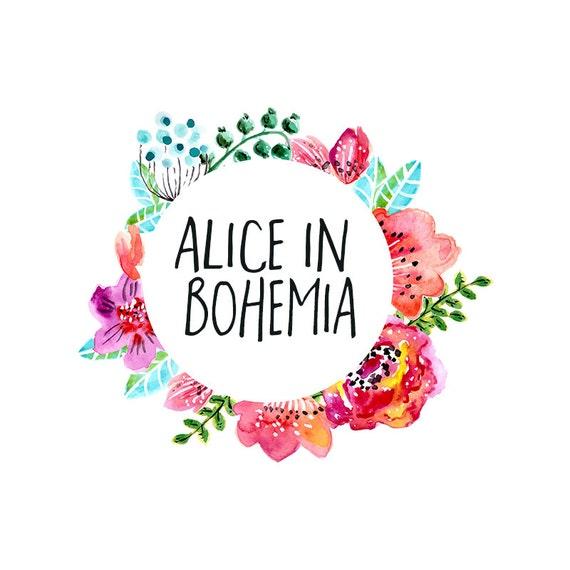 bohemian logo design