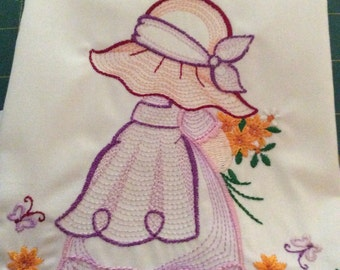 Sun bonnet sue