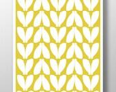 Chartreuse Digital Download Art, Printable Art, Digital Poster, Art Print, Nursery Art Print, Wall Decor, Chartreuse Wall Art, Mod Art Print