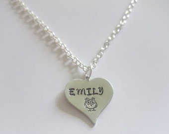 Children's personalised necklace