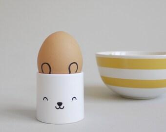 Cute kid's egg cup - Bear