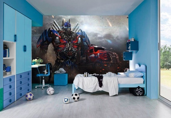 transformers wall murals by inkyourwall on etsy