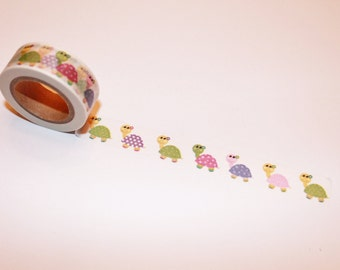 Turtles Washi Tape Rolls