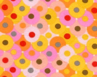 1 YARD Valori Wells - Bliss – Circles- FLANNEL