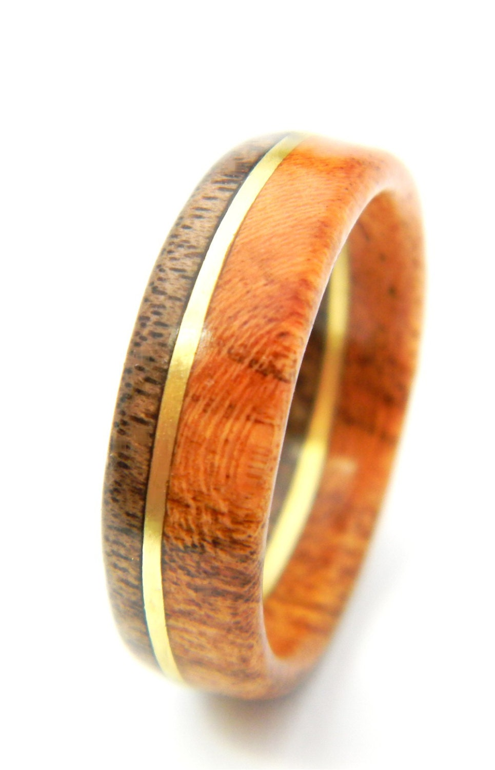 ready to ship size 13 unique walnut and etsy mens wedding bands zoom