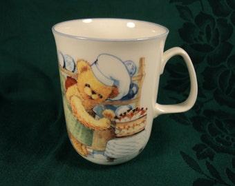 Teddy Bear Coffee Mug or Tea Cup Bone China Rose of England