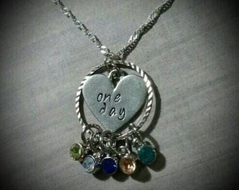 Personalized Miscarriage Remembrance Memorial Loss Necklace