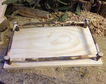 Handmade Wooden Play/Serving Tray.....