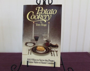 Potato Cookery, Vintage Cookbook, 1980