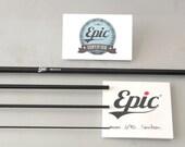 Epic 590c carbon fibre fly rod blanks for custom rod builders