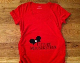 Future Mousekeeteer Maternity T-Shirt