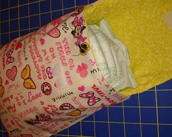 Minnie Mouse diaper clutch