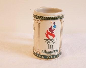 Atlanta 1996 Centennial Olympic Games Beer Stein