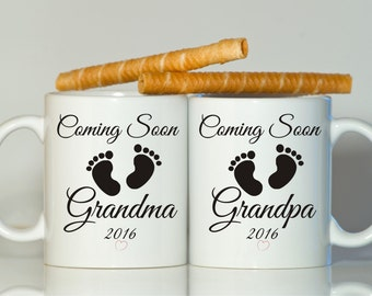 Pregnancy reveal gift, Pregnancy reveal to grandparents, Pregnancy reveal to grandpa, Pregnancy reveal to grandma, Pregnancy announcement