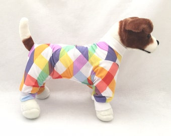 Abby's Dog Pajamas - Handmade Dog Clothes, Dog Clothing, Dog Apparel