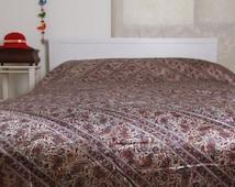 Bed cover, Bed spread, Queen bedspread, King bedspread, Linen bedding, Linen bedspread, King size bedsprea, Indian bedspread, Indian bedding