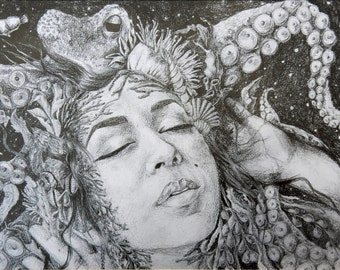 Sea Creature Print