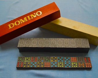 Vintage Wooden Dominoes (Western Germany)