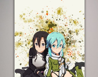 Sword Art Online - Kirito and Sinon - S4